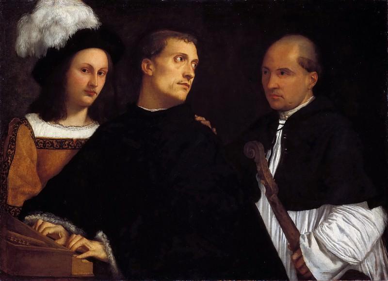 The Concert. Titian (Tiziano Vecellio)