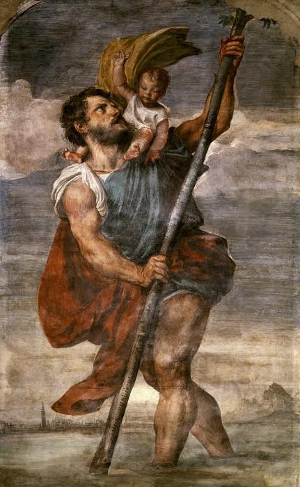 Святой Христофор. Тициан (Тициано Вечеллио)