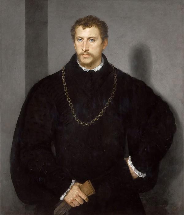 Портрет молодого англичанина. Тициан (Тициано Вечеллио)