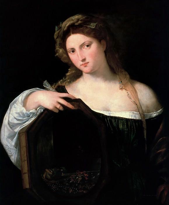 Profane Love or Vanity 1514 15. Titian (Tiziano Vecellio)