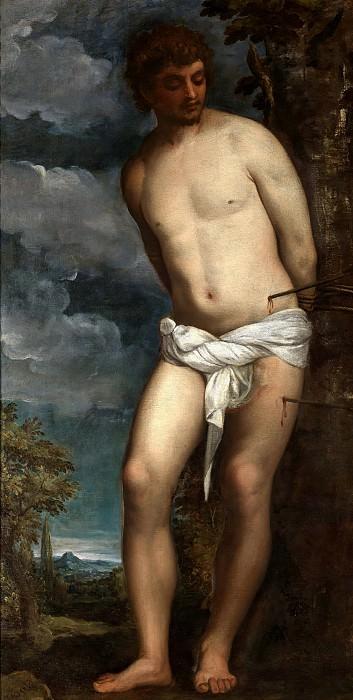 Saint Sebastian. Titian (Tiziano Vecellio)