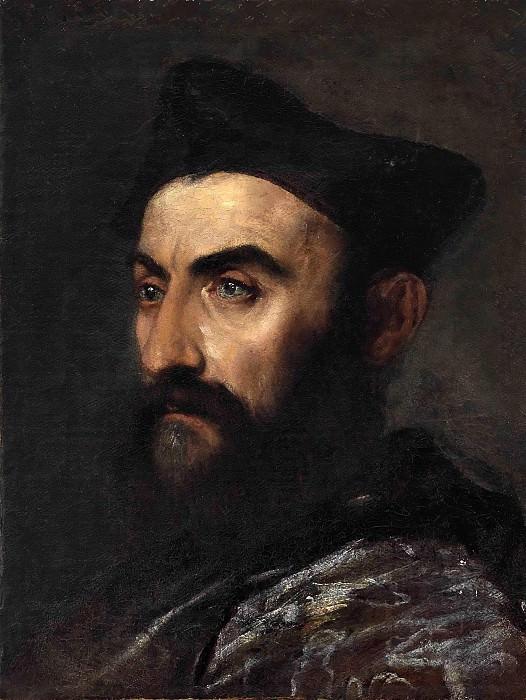 Portrait of a cleric. Titian (Tiziano Vecellio)