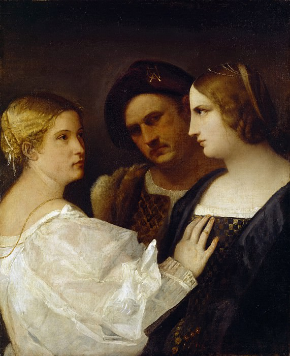 The Appeal. Titian (Tiziano Vecellio)