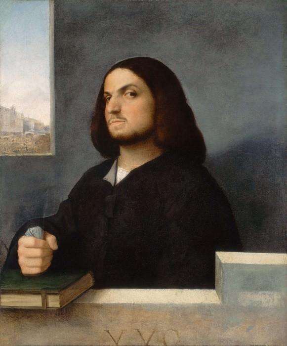 Portrait of a Venetian. Titian (Tiziano Vecellio)