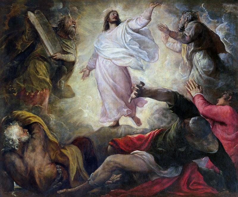 The Transfiguration of Christ. Titian (Tiziano Vecellio)