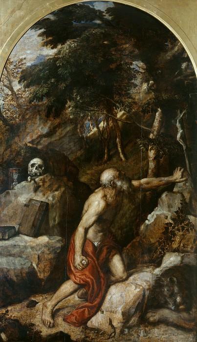 St. Jerome. Titian (Tiziano Vecellio)