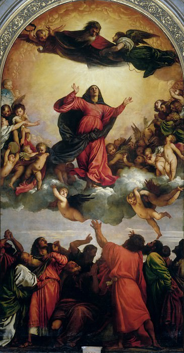 Assumption. Titian (Tiziano Vecellio)