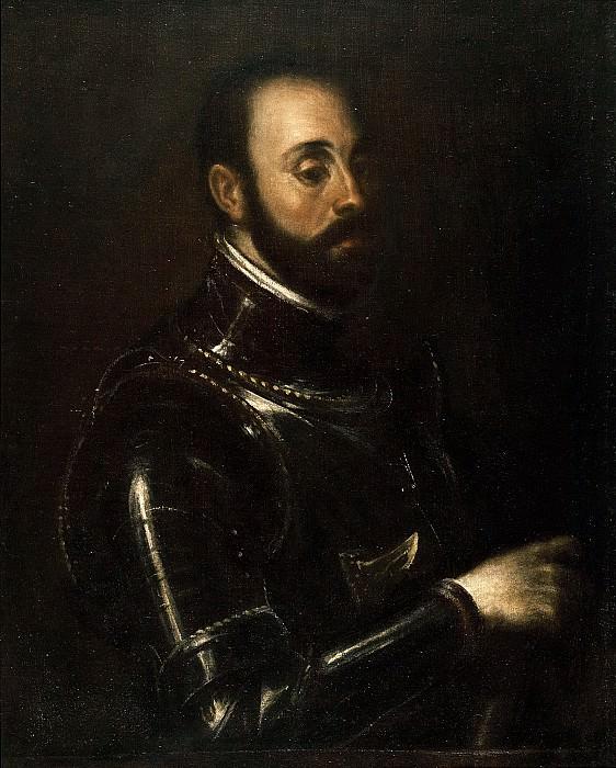 Portrait of marchese Vasto. Titian (Tiziano Vecellio)