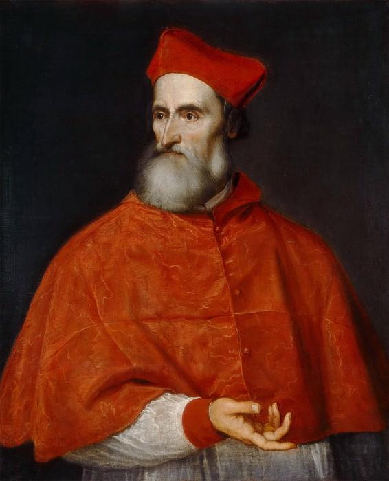 Cardinal Pietro Bembo. Titian (Tiziano Vecellio)
