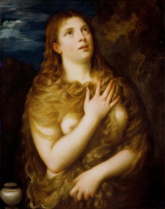 Mary Magdalene in Penitence. Titian (Tiziano Vecellio)