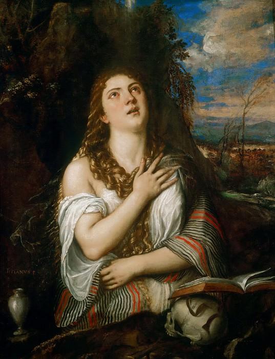 Magdalene. Titian (Tiziano Vecellio)