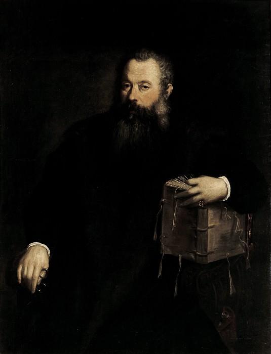 Мужской портрет (мастерская). Тициан (Тициано Вечеллио)