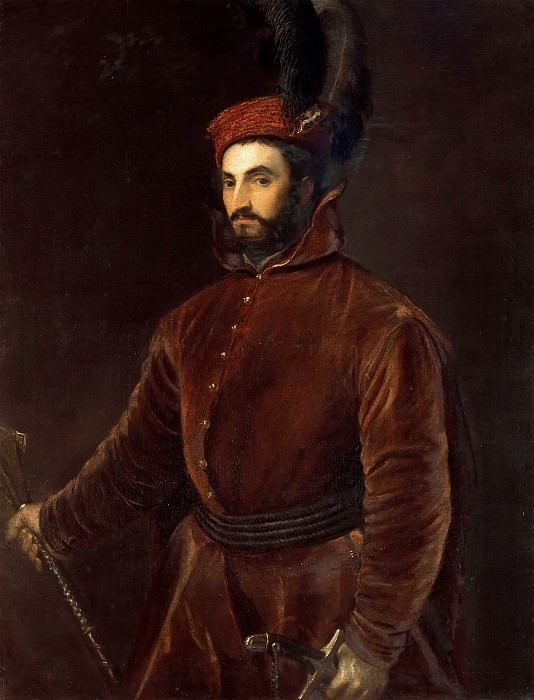 Portrait of Cardinal Ippolito de Medici. Titian (Tiziano Vecellio)