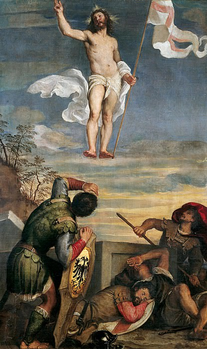 Воскресение Христа. Тициан (Тициано Вечеллио)