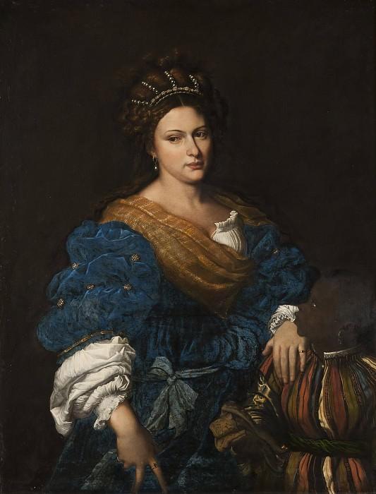 Лаура де Дианти (умерла в 1573 году). Тициан (Тициано Вечеллио) (Последователь)