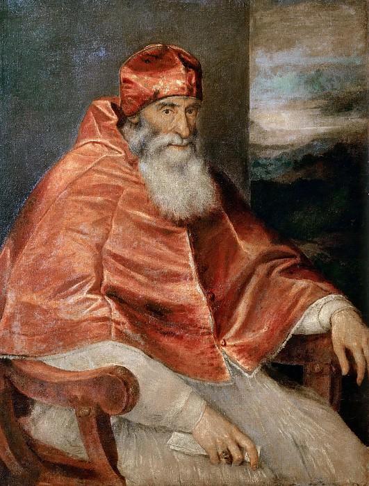 Paul III. Titian (Tiziano Vecellio)