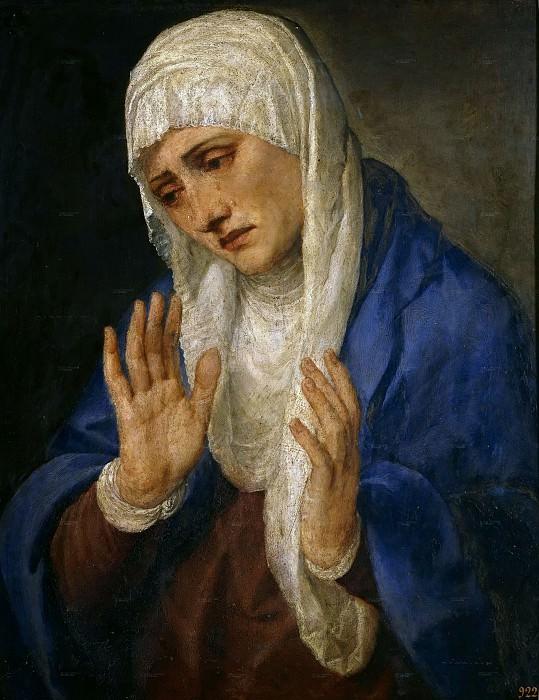 Mater Dolorosa. Titian (Tiziano Vecellio)