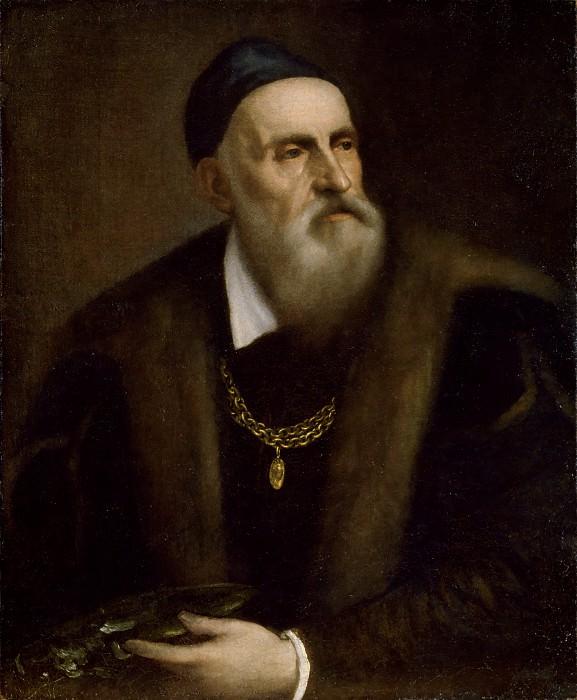 Self-portrait. Titian (Tiziano Vecellio)