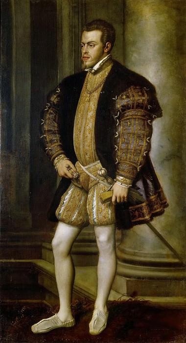 Portrait of Philip II. Titian (Tiziano Vecellio)