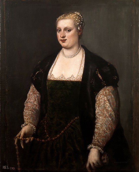 Portrait of a Woman. Titian (Tiziano Vecellio)