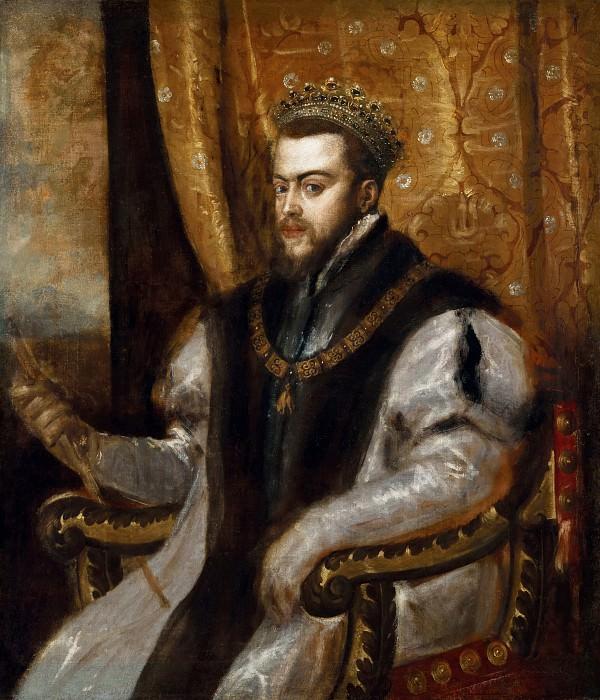King Philip II of Spainca. Titian (Tiziano Vecellio)