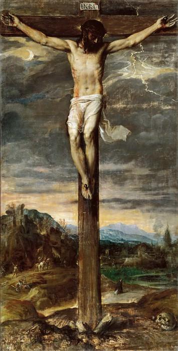 Christ on the Cross. Titian (Tiziano Vecellio)