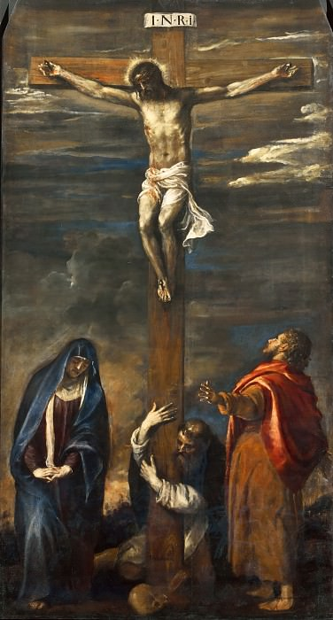 Crucifixion. Titian (Tiziano Vecellio)