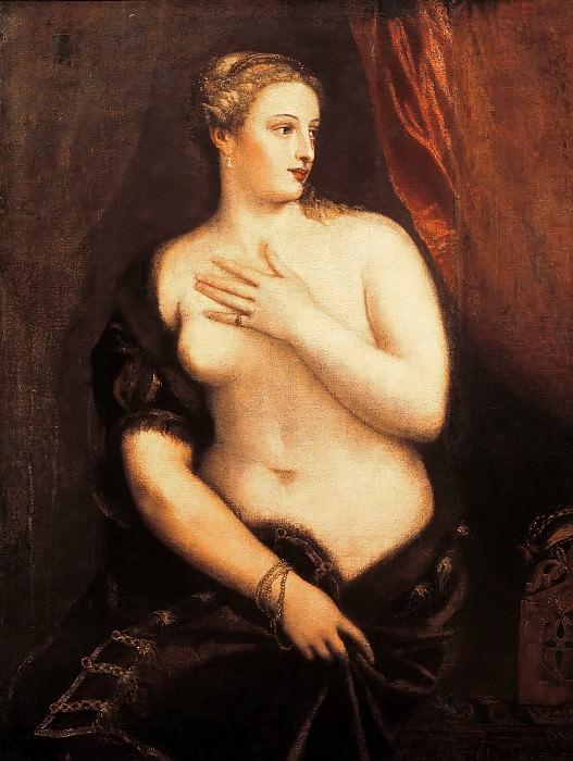 Венера с зеркалом. Тициан (Тициано Вечеллио)