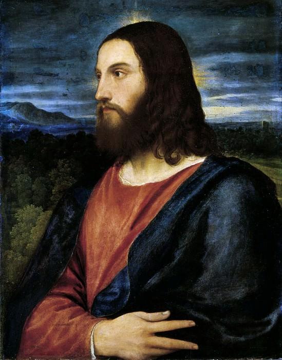 Christ the Redeemer. Titian (Tiziano Vecellio)