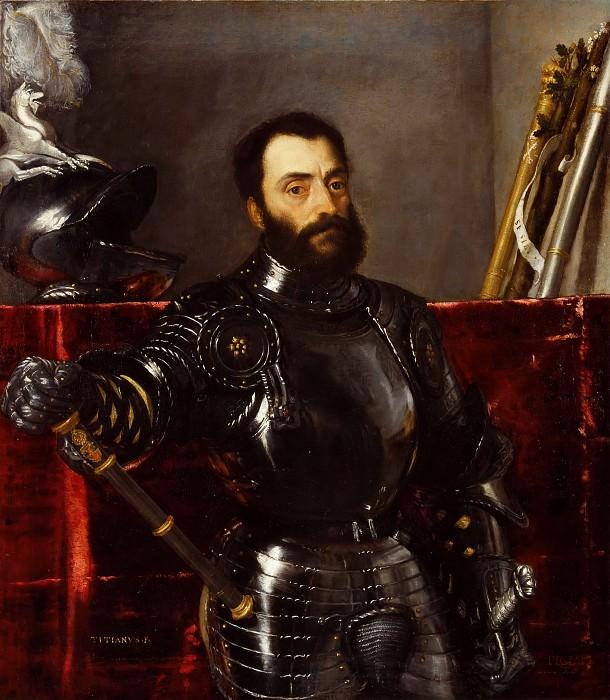 Portrait of Francesco Maria della Rovere. Titian (Tiziano Vecellio)