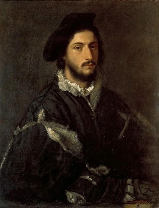 Портрет мужчины (Томмазо или Винченцо Мости). Тициан (Тициано Вечеллио)