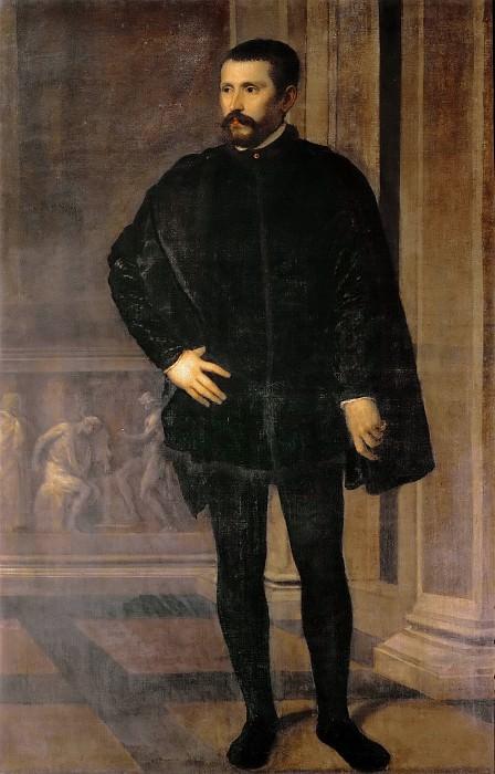 Don Diego Hurtado de Mendoza. Titian (Tiziano Vecellio)