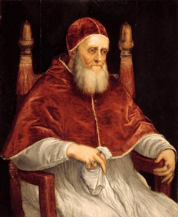 Папа Юлий II. Тициан (Тициано Вечеллио)