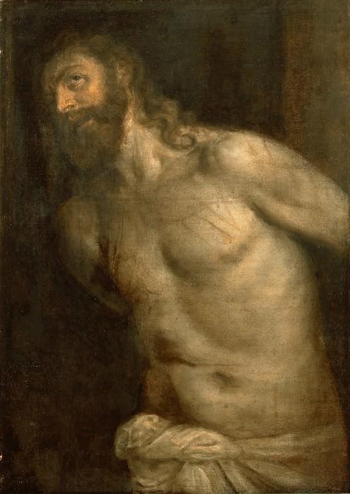 Christ Scourged (study). Titian (Tiziano Vecellio)