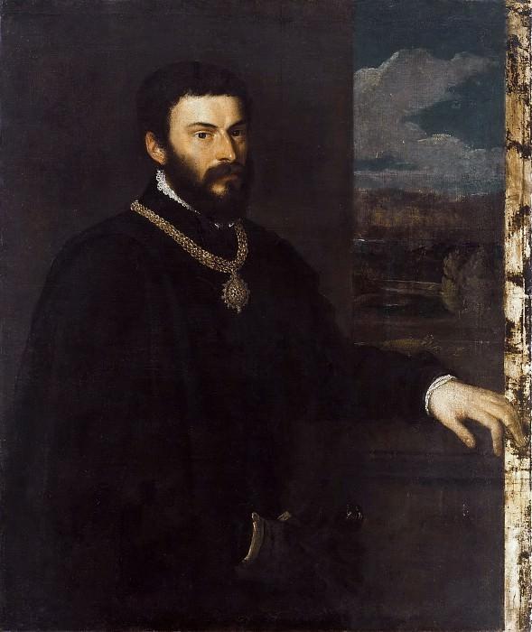 Portrait of Count Antonio Porcia e Brugnera. Titian (Tiziano Vecellio)