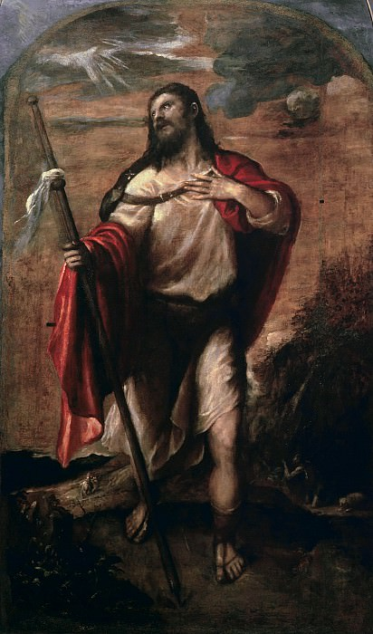 St. James the Major. Titian (Tiziano Vecellio)