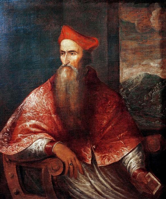 Portrait of Pietro Bembo. Titian (Tiziano Vecellio)