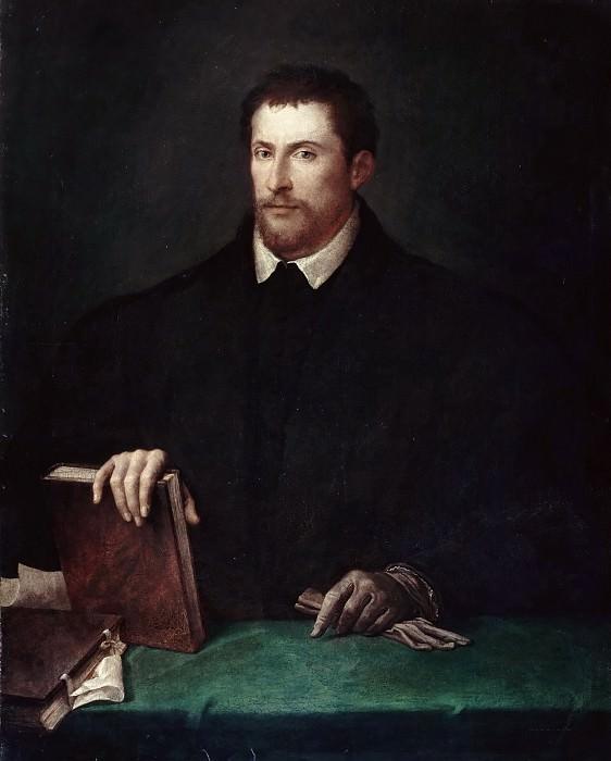 Portrait of Ippolito Riminaldi. Titian (Tiziano Vecellio)