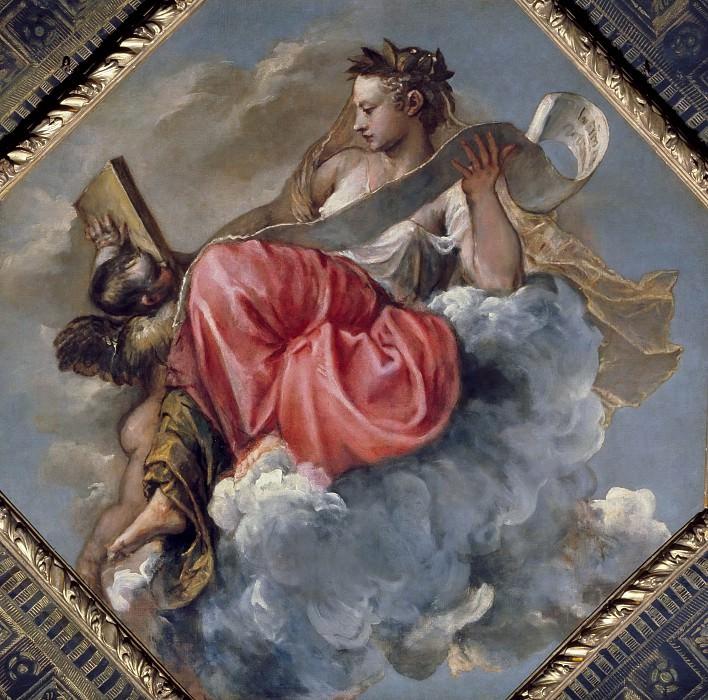 Sapientia. Titian (Tiziano Vecellio)