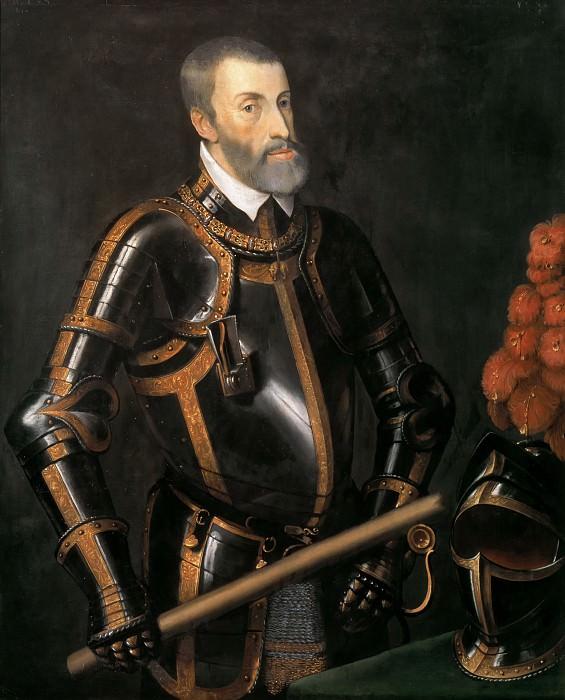 Charles V, Emperor (workshop). Titian (Tiziano Vecellio)