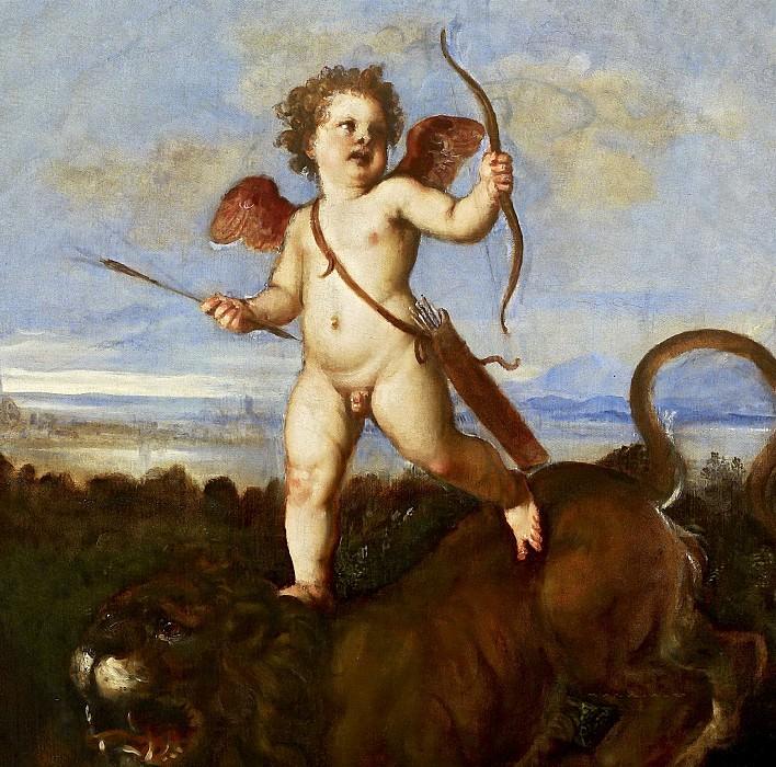 The Triumph of Love. Titian (Tiziano Vecellio)