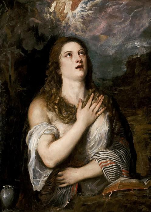 Кающаяся Мария Магдалина. Тициан (Тициано Вечеллио)