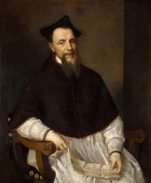 Portrait of Bishop Ludovico Beccadelli. Titian (Tiziano Vecellio)