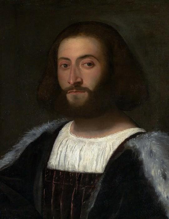 Мужской портрет. Тициан (Тициано Вечеллио)