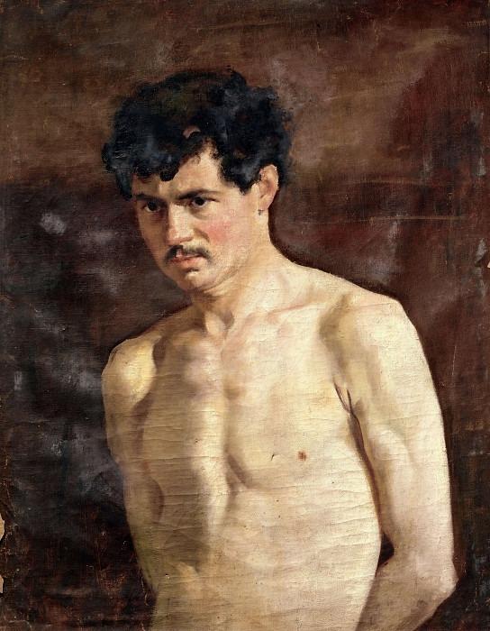 Портрет молодого человека без одежды. Чезаре Таллоне (школа)