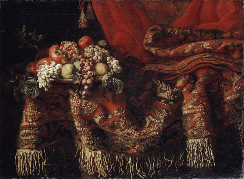 Sumptuous Still Life with Fruit. Unknown painters