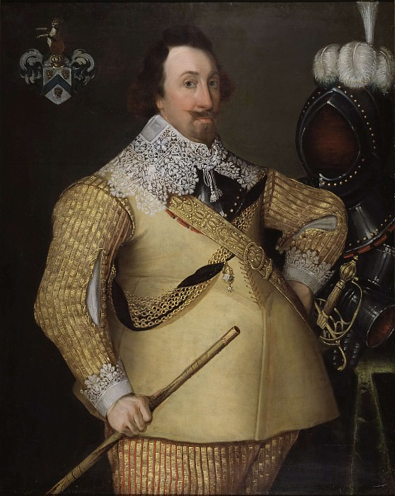 Jacob Scott, died in 1635, Colonel. Unknown painters