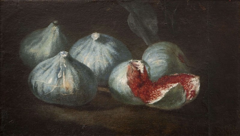 Still Life with Figs. Unknown painters
