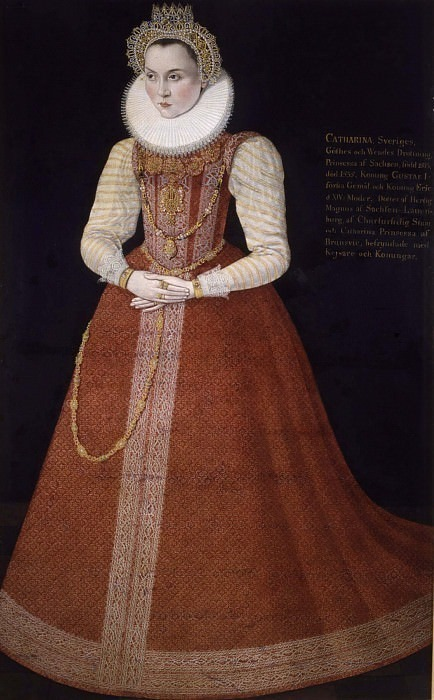 Unknown woman called Sofia (1547-1611), Princess of Sweden Duchess of Saxony-Lau. Unknown painters