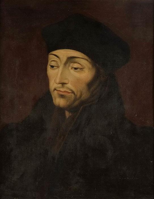 Erasmus Desiderius Rotterdamus (ca 1467-1536). Unknown painters